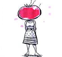 Tomato Face by Kate Moon