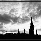 Night over City Hall by Zeanana
