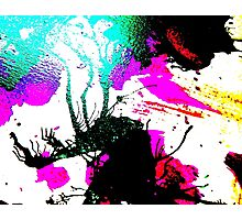 Rave Abstract Party Design Photographic Print