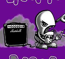 Purple mug by ElectricBeans
