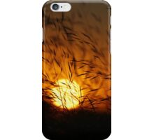 Free State Sunset - Petrusburg, South-Africa  iPhone Case/Skin