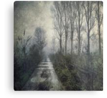 Fog on the Bridleway Metal Print