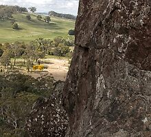 The View From Hanging Rock by Marcel Lee