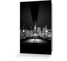 Darling harbour Greeting Card