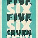 Lindy Lyrics - 5, 6, 5, 6, 7, 8 by chayground