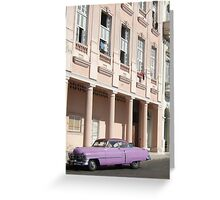 Havana pink Greeting Card