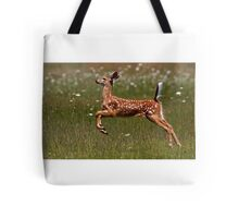 Summer Fawn - White-tailed Deer Tote Bag