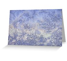 Frosted glass 2 Greeting Card