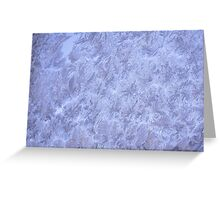 Frosted glass 8 Greeting Card