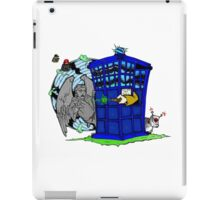 Doctor Who versus Enemies iPad Case/Skin