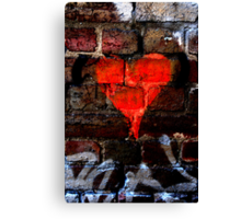 Bleeding Heart Canvas Print