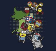Minions Assemble Age of Mintron by TopNotchy
