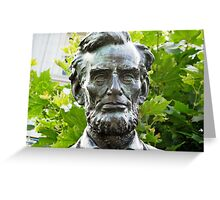 Lincoln © Greeting Card
