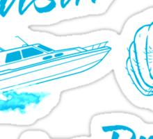 Cruisin' for a Bruisin' Sticker