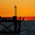 Sunset Nightcliff Jetty, Darwin by chriso