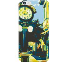 Armbruster Clock & Storefront - Cedarburg WI (bold) iPhone Case/Skin