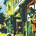 Armbruster Clock & Storefront - Cedarburg WI (bold) by katherinepaulin