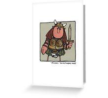 Amazon III Greeting Card
