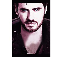 Once Upon a Time - Captain Hook Photographic Print