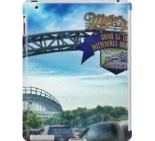 Gameday at Miller Park iPad Case/Skin