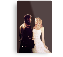 Once Upon a Time - Captain Swan Metal Print