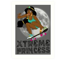 XTREME PRINCESS Art Print