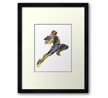 The Knee Framed Print