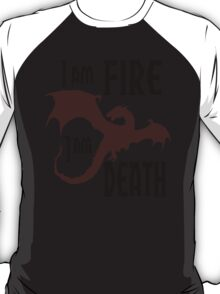 Fire & Death T-Shirt