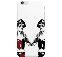 Double the trouble, twice the fun! - Harley Quinn iPhone Case/Skin