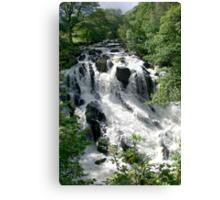 Swallow Falls (2) Canvas Print