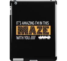 Holy Grail - Jay-Z - Black iPad Case/Skin