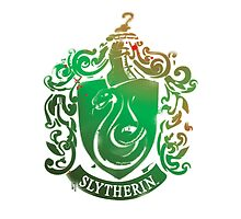 Slytherin crest by loreendb