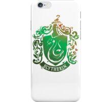 Slytherin crest iPhone Case/Skin
