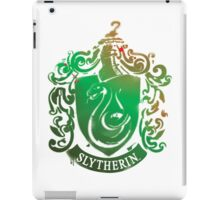 Slytherin crest iPad Case/Skin