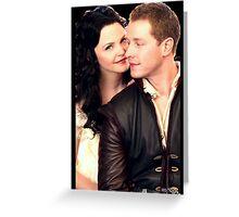 Once Upon a Time - Snow x Charming Greeting Card