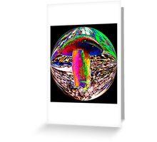 #192 Psychedelic Mushroom Greeting Card