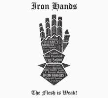 Iron Hands, Warhammer 40K by ZsaMo