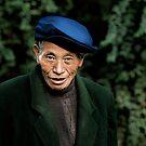 Chinese man by Matthew Bonnington