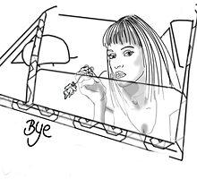 BYE... by Yvonne Kok