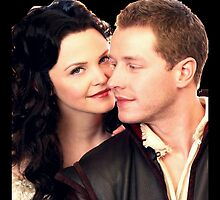 Once Upon a Time - Snow x Charming by D. Abdel.