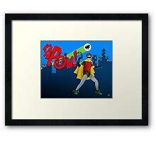 The Boy Wonder Framed Print