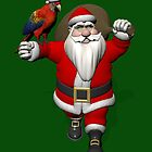 Santa Claus Loves Sweet Parrots by Mythos57