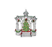 Christmas Gazebo by JeanneCarr