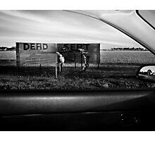 Dead Sert Photographic Print