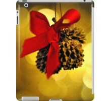 Tiny Christmas Cones iPad Case/Skin