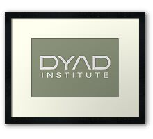 DYAD Institute Framed Print