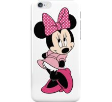 Pink Minnie Mouse iPhone Case/Skin