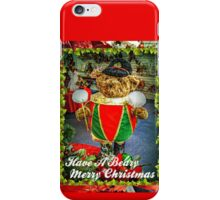 Have A Beary Merry Christmas iPhone Case/Skin