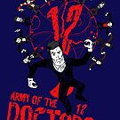 Army of the 12 Doctors by Everdreamer