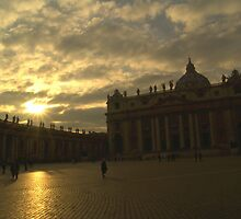 Saint Peter's Square, Vatican City by tonyphoto